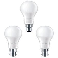 3 x Philips 8W = 60W CorePro LED GLS A60 BC/B22 Blanc Chaud 2700k givré Ampoule