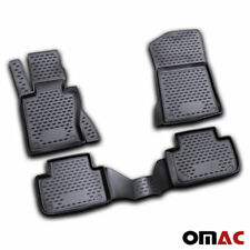 BMW X3 E83 Floor Mats Liner 3D Molded Fit Black Interior Protector 2004-2010