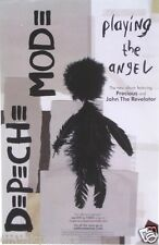 "Depeche Mode ""Playing The Angel"" U.S. Promo Poster - New Wave Music Legends"