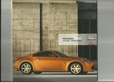 NISSAN 350Z COUPE AND ROADSTER SALES BROCHURE FEBRUARY 2007