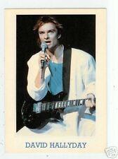 DAVID HALLYDAY à sa guitare