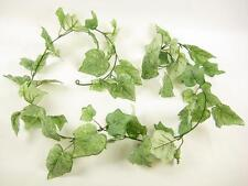 155cm Artificial Grape Garland Greenery Vine Green Leaves for Conservatory