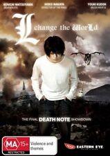 L Change the World (DVD, 2008) Brand new sealed free post!!