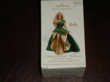 NIB HALLMARK ORNAMENT 2011 Barbie Celebration Special Edition Doll NEW Series