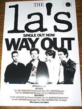 The La's 'Way Out' Poster