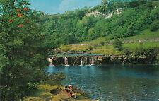 (19783) GB Postcard Swaledale Wain Wath Falls Yorkshire