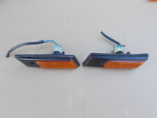 BMW E32 E34 Front Guard Additional Turn Indicator Lenes Pair Parts 1378011/012