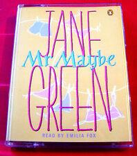 Jane Green Mr Maybe 2-Tape Audio Book Emilia Fox