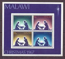 Malawi, Christmas, Souvenir Sheet, MNH 1971