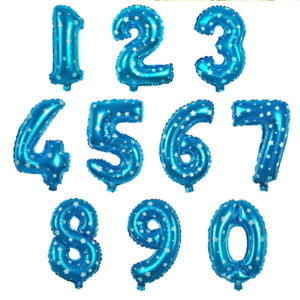 """1x 40"""" Giant Assorted Foil Number Balloon Birthday Party Decoration Mylar Sign"""