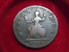 1754 GEORGE 11 FARTHING [KS600]