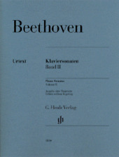 Henle Urtext Beethoven Piano Sonatas Vol 2
