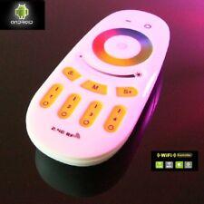 4 zonas RGB RGBW RGB + w radio touch Controller dimmer 2,4ghz WiFi WLan LED strip