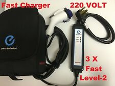 EV Electric Car Charger Vehicle Charging Cable Cord 220V Level 2 Nissan Leaf 30'