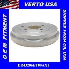 Brake Drum Rear Verto USA  DR43206ET00AX1 Fit Nissan Cube ,Sentra , Versa