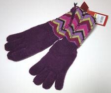 "New Missoni Target Girls Chevron Stripe 11"" Long Knit Gloves Wool Blend"