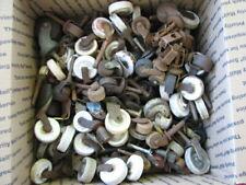 New listing Antique Vintage Wooden Furniture Casters Rollers Wood / Metal / Porcelain 19 Ib