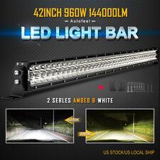 42inch LED Light Bar 960W Spot Flood Combo Beam Fog Lamp Offroad Truck SUV 40/44