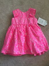 Just One You By Carter's Special Occasion Pink Dress Size 3 Months NWT