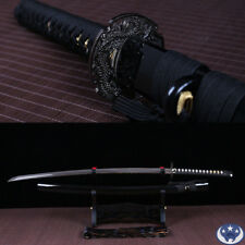 Japanese samurai Katana full tang 1060 high carbon steel handmade sword sharp.