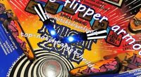 TWILIGHT ZONE Pinball Flipper Armour Mod-6 piece set