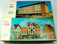 2 KIBRI (W. GERMAN) HO GAUGE UNASSEMBLED KITS WITH ORIGINAL BOXES NR