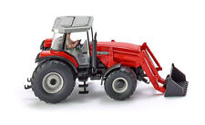 Wiking Massey Ferguson MF 8280 Tractor with Front Loader Die-Cast model Toy 1:87