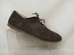 KICKERS Brown Suede Oxford Casual Dress Shoes Mens Size 46 EUR
