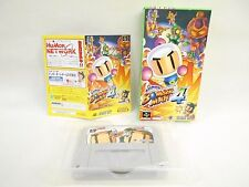 Super Bomberman 4 GOOD Condition Super Famicom Nintendo Japan Boxed Game sf