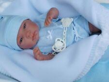 Bébé LINO POUR ENFANT sexué GARCON HABIT COMPLET TETINE poupée jouet reborn neuf