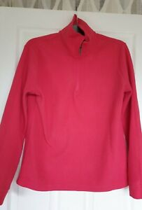 Great Condition Dynamic  Pink  Fleece Top Size M  (12)