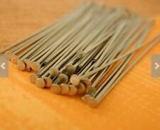 Lot 1000p Stainless Steel Head Pin Needle Jewelry Making Supplies Findings 35mm
