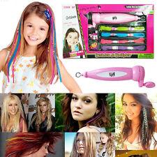 Fashion Girl Lady Magic Hair Beader Braider Craft Beading Playset ++ Accessories