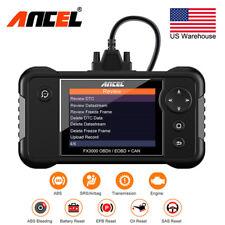Ancel FX3000 ABS SRS Airbag OBD2 Code Reader Diagnostic EPB Oil Reset Scanner