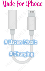 3.5mm Bluetooth to Earphone Jack Audio AUX Adapter Cable For iPhone 7 8 X XS XR