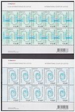 Netherlands 2004 Cour internationale de justice MNH sheet