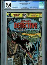 Detective Comics # 463 CGC 9.4 NM  Batman 1976 White Pages Comic Amricons K17