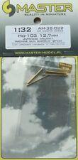 Master 1/32 Ho-103 12.7 mm japonés avión máquina pistola barriles