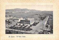3564) LA SPEZIA IL MOLO ITALIA.