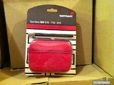 Original TomTom 9V00.014 Tasche / Case in Rot für GO 510 / 710 / 910 Navi, NEU