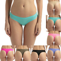 4er Pack Damen String Tanga Seamless Slip String ice silk G-String V-String