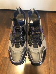 Karl lagerfeld Runner sneakers mens Size 10.5. Grey/blue