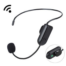 Hands-free Wireless FM Condenser Microphone Headset Megaphone For Speaker  SY