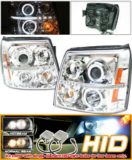 Fits Xenon 02-06 Escalade CCFL Halo Projector Headlights Esv