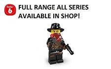 Lego minifigures bandit series 6 (8827) unopened new factory sealed