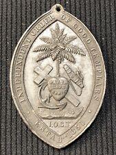 1878 Juvenile Templars Medal, Liverpool