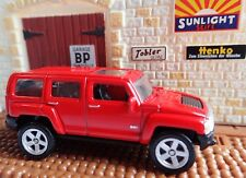 WELLY HUMMER H3 RED DIECAST 52284 QUAILTY MODEL SERIES 2 FAST SHIPPING +TRACKING
