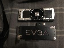 EVGA Nvidia GeForce GTX TITAN Z 12GB GDDR5 5760 CUDA Cores Tesla Hydro + Luft