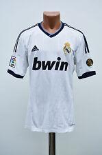 REAL MADRID SPAIN 2012/2013 HOME FOOTBALL SHIRT JERSEY CAMISETA ADIDAS