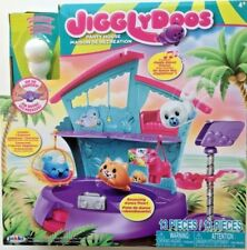 Jigglydoos Party House Playset Exclusive Animal Pet Figure + Dance Music 13 pcs